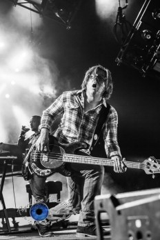Matchbox 20 performing at Hollywood Casino Amphitheatre Tuesday. Photo by Sean Derrick/Thyrd Eye Photography.