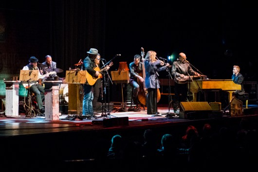 Alison Krauss and band perform at the Peabody Opera House. Photo by Ryan Ledesma.