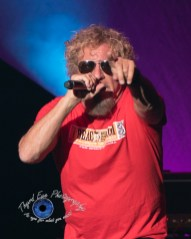 Sammy Hagar performs at the KSHE 95 50th Birthday Party at Hollywood Casino Amphitheatre in Saint Louis Saturday. Photo by Sean Derrick/Thyrd Eye Photography.