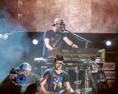Luke Bryan performing in Springfield, Illinois on his Farm Tour 2017 Tour. Photo by Sean Derrick/Thyrd Eye Photography.