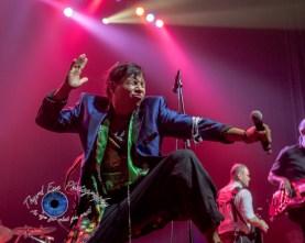 Pedro Erazo of Gogol Bordello performing at The Pageant in Saint Louis Wednesday. Photo by Sean Derrick/Thyrd Eye Photography.