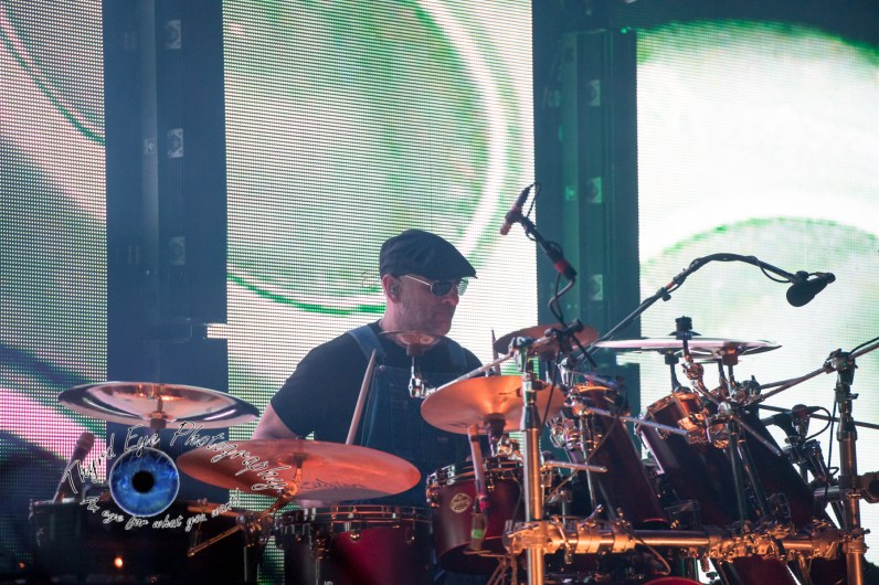 """Tim """"Herb"""" Alexander performing with Primus at Peabody Opera House in Saint Louis. Photo by Sean Derrick/Thyrd Eye Photography."""