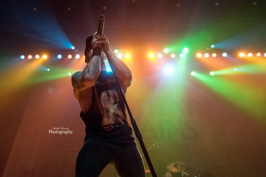 All That Remains performing at The Pageant in Saint Louis. Photo by Keith Brake Photography.