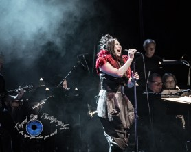 Amy Lee and Evanescence performing Sunday at Peabody Opera House in Saint Louis. Photo by Sean Derrick/Thyrd Eye Photography.