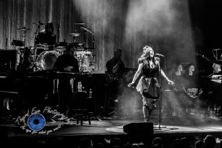 Evanescence performing Sunday at Peabody Opera House in Saint Louis. Photo by Sean Derrick/Thyrd Eye Photography.