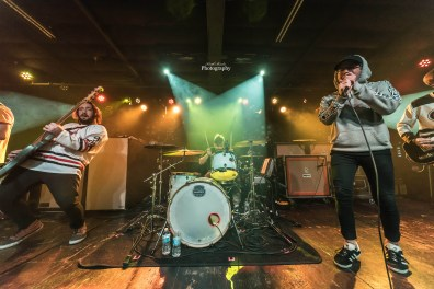 Broadside performing at The Ready Room in Saint Louis. Photo by Keith Brake Photography.
