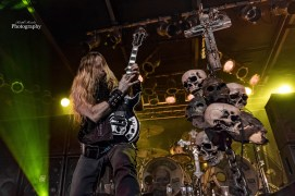 Zakk Wylde of Black Label Society performing a New Years Eve show by Saint Louis Sunday at Pop's. Photo by Keith Brake Photography.
