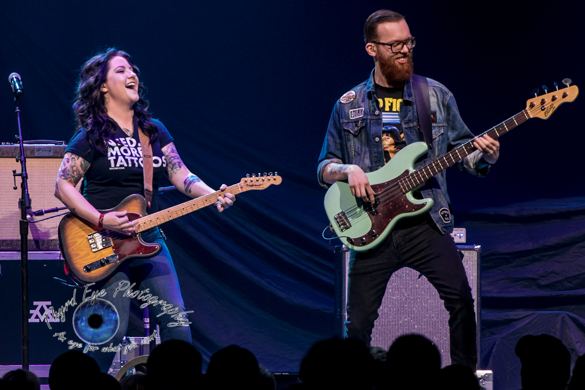 Ashley McBride performing at Scottrade Center in Saint Louis Friday. Photo by Sean Derrick/Thyrd Eye Photography