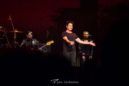 Daryl Hall & John Oates and Train at Scottrade Center in Saint Louis Saturday. Photo by Ryan Ledesma.