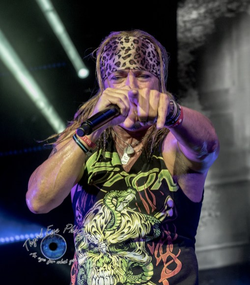Poison performing at Hollywood Casino Amphitheatre in Saint Louis Saturday. Photo by Sean Derrick/Thyrd Eye Photography.