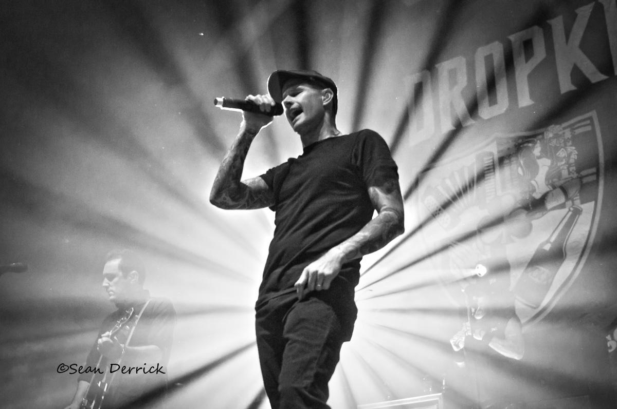 Dropkick Murphys performing in Saint Louis. Photo by Sean Derrick/Thyrd Eye Photography.