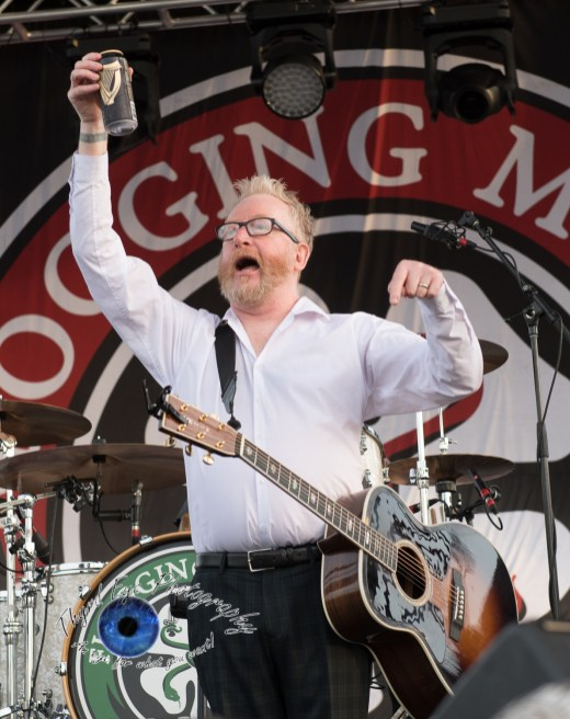 Flogging Molly performing at Pops. Photo by Sean Derrick/Thyrd Eye Photography.