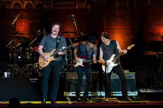 The Doobie Brothers performing at Hollywood Casino Amphitheatre in Saint Louis Wednesday. Photo by Keith Brake Photography.