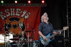 Molly Hatchet perform at the KSHE 95 Pig Roast Saturday. Photo by Keith Brake Photography.