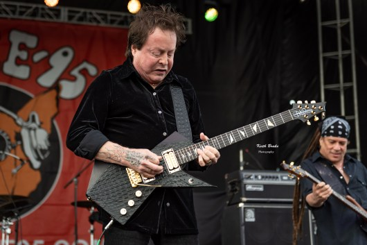 Rick Derringer performs at the KSHE 95 Pig Roast Saturday. Photo by Keith Brake Photography.