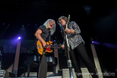 REO Speedwagon performing at Hollywood Casino Amphitheatre in Saint Louis Saturday. Photo by Greg Artime.