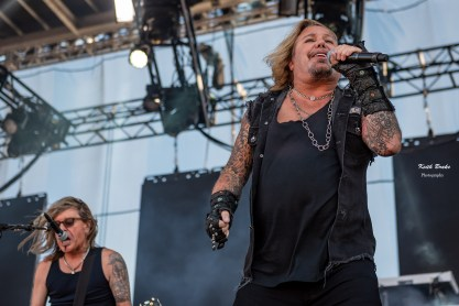 Vince Neil performing at Rockfest in Kansas City. Photo by Keith Brake Photography.