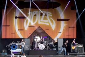 Jason Bonham's Led Zeppelin Experience performing Wednesday at Hollywood Casino Amphitheatre. Photo by Sean Derrick/Thyrd Eye Photography.
