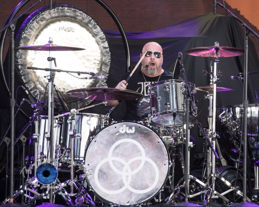 Jason Bonham's Led Zeppelin Experience performing Wednesday at Hollywood Casino Amphitheatre. Photo by Sean Derrick/Thyrd Eye Photography.