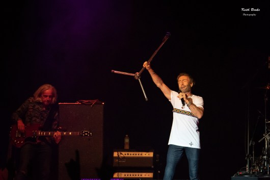 Paul Rodgers performing at Hollywood Casino Amphitheatre Saturday. Photo by Keith Brake Photography.