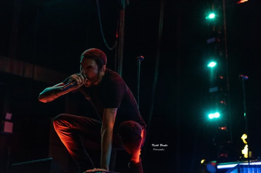 Breaking Benjamin performing at Hollywood Casino Amphitheare in Saint Louis Tuesday. Photo by Keith Brake Photography.