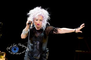 Cyndi Lauper performing at Hollywood Casino Amphitheatre in Saint Louis Sunday. Photo by Sean Derrick/Thyrd Eye Photography.