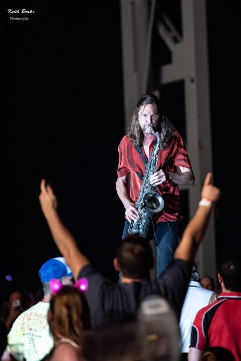 El Monstero performing at Hollywood Casino Amphitheatre in Saint Louis. Photo by Keith Brake Photography.