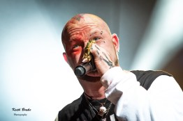 Five Finger Death Punch performing at Hollywood Casino Amphitheare in Saint Louis Tuesday. Photo by Keith Brake Photography.