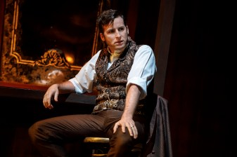 "Sean Thompson (""Raoul, Vicomte de Chagny"") stars in Love Never Dies. Photo: Joan Marcus."