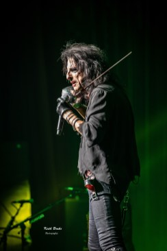 Alice Cooper performing Saturday night at Stifel Theatre in Saint Louis. Photo by Keith Brake Photography.