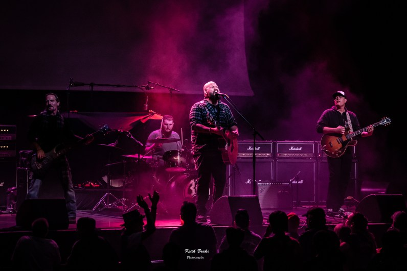 Benton Blount performing at The pageant in Saint Louis. Photo by Keith Brake photography.