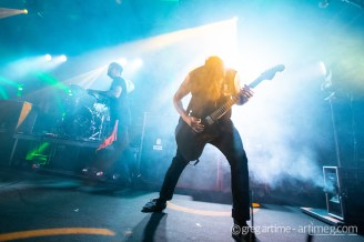 Beartooth performing at Pop's Nightclub Thursday. Photo by Greg Artime.