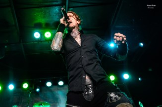 Buckcherry at Pops. Photo by Keith Brake.