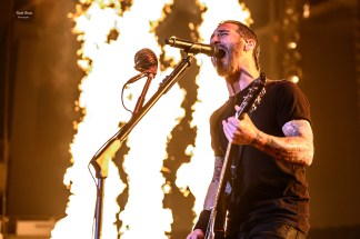 Godsmack at The Ford Center, Evansville IN. Photo by Keith Brake.