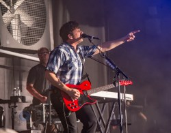 Jimmy Eat World performing at Hollywood Casino Amphitheatre in Saint Louis Tuesday. Photo by Sean Derrick/Thyrd Eye Photography.