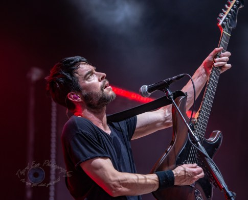 Chevelle performing at Hollywood Casino Amphitheatre for the tour kickoff Sunday. Photo by Sean Derrick/Thyrd Eye Photography.