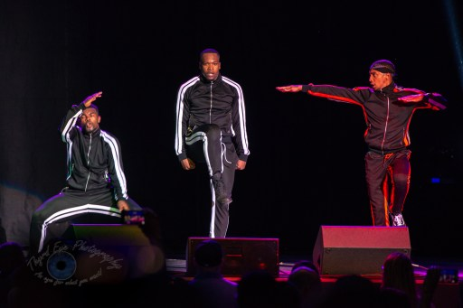A few of MC Hammer's dancers in concert at the Hollywood Casino Amphitheatre in Saint Louis Friday. Photo by Sean Derrick/Thyrd Eye Photography