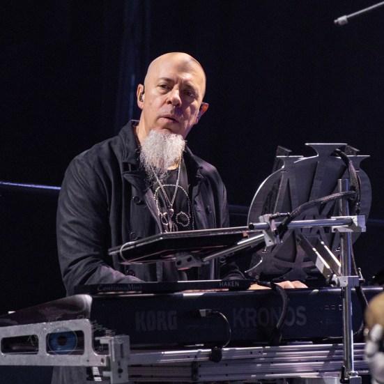 Jordan Rudess during Dream Theater's performance Wednesday at Stifel Theater in Saint Louis. Photo by Sean Derrick/Thyrd Eye Photography.