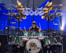 Mike Mangini during Dream Theater's performance Wednesday at Stifel Theater in Saint Louis. Photo by Sean Derrick/Thyrd Eye Photography.