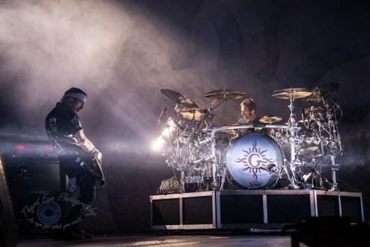 Godsmack performing in Saint Charles, MO. Photo by Sean Derrick/Thyrd Eye Photography.