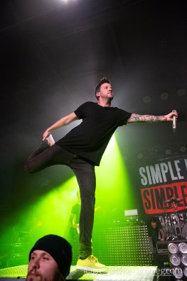 Simple Plan at Pop's