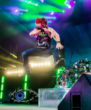 Poison performing at Hollywood Casino Amphitheatre in 2017. Photo by Sean Derrick/Thyrd Eye Photography.