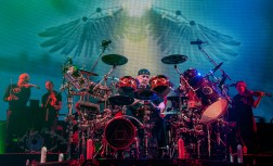 My favorite photo of Neil Peart performing with Rush at Scottrade Center in 2012. Photo by Sean Derrick/Thyrd Eye Photography.
