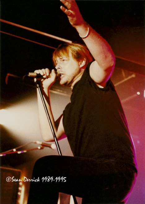 Dokken performing at Mississippi Nights in 1995. Photo by Sean Derrick/Thyrd Eye Photography.