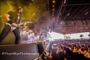 Trivium performing in St. Louis. Photo by Sean Derrick/Thyrd Eye Photography