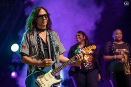El Monstero performing at the Hollywood Casino Amphitheatre Saturday to open for live shows again Photo by Keith Brake/KBP Studios