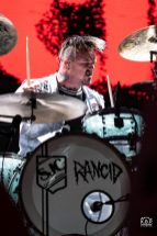 Rancid performing an outdoor show at Pops nightclub Sunday. Photo by Keith Brake/ KBP Studios