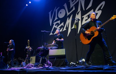 Violent Femmes performing at the tour opener at Saint Louis Music Park Friday. Photo by Sean Derrick/Thyrd Eye Photography.