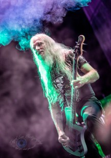 John Campbell of Lamb of God performing at Hollywood Casino Amphitheatre in St. Louis. Photo by Sean Derrick/Thyrd Eye Photography.