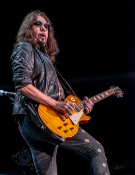 Ace Frehley performing at Saint Louis Music park in Saint Louis, Saturday. Photo by Sean Derrick/Thyrd Eye Photography.